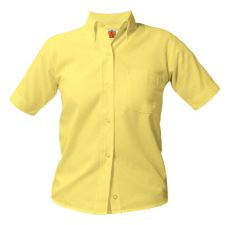 girls-yellow-short-sleeve-oxford-shirt