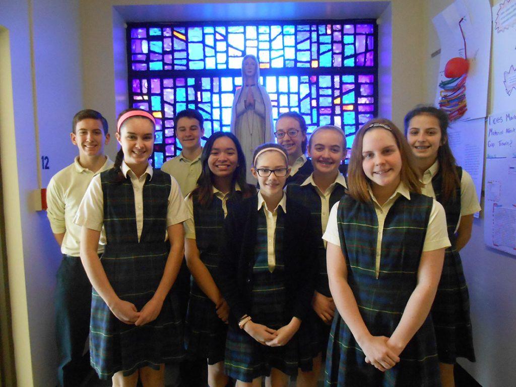 2017 bishop hartley scholarship winners