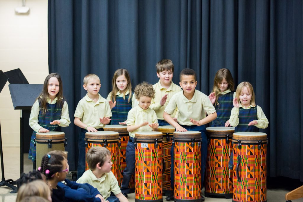 Drums Purchased with Home & School Funds