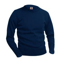 unisex-navy-crew-neck-pullover-sweaterjpg
